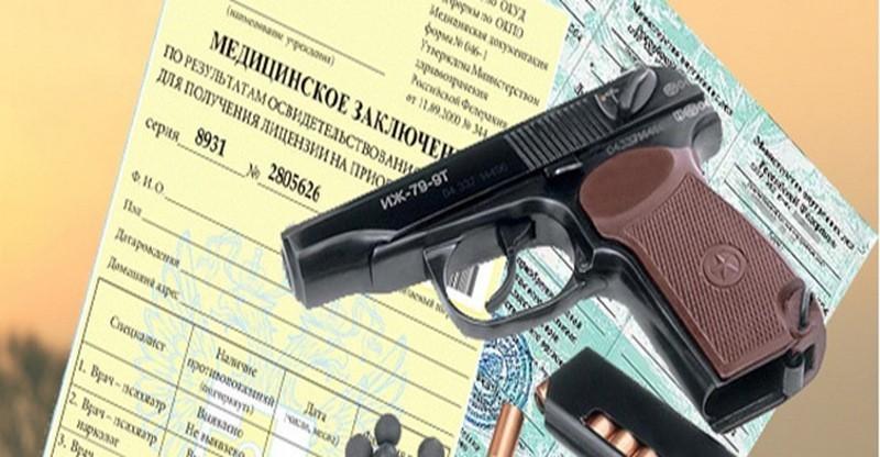 Получение cправки 002-о/у и 003-о/у в Домодедово (на оружие)